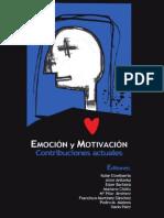 Emoción y Motivación. Contribuciones Actuales - Etxebarría Et Al (2008)