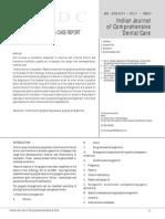 Fibrous Hyperplasia a Case Report