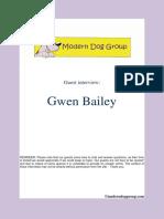 Feb 3, 2014  Gwen Bailey