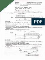 Série04 Flexion-RDM Corrigé- Type