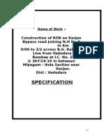 Specifications Karjan