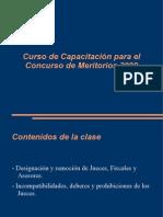 Unrc-Designacion, Remocion, Incompatibilidades, Deberes y Prohibiciones