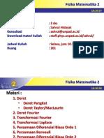 Fisika Matematika II