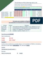 1era - 2da - 3era - 4ta Clase Excel II - G8