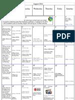 august calendar 2014 big