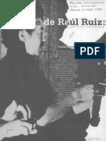 El Cine de Raúl Ruiz El Progreso Del Tiempo
