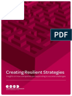 Europe - Creating Resilient Strategies