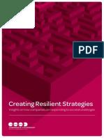 Europe - Creating Resilient Strategies