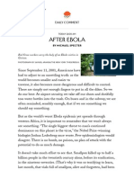 After Ebola - The New Yorker