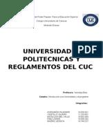 Universidades Politecnicas y Reglamentos de CUC