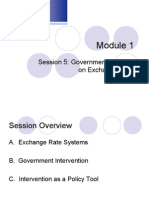 Lecture Class_5_Government and Exchange Rate