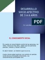 Desarrollo Socio Afectivo de 3 - 6 Años