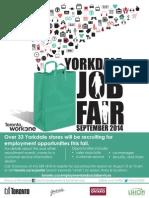 1YorkdaleJobFair Flyer2014 Aug Date 2