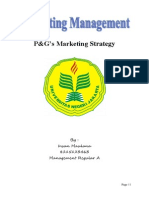 P G Marketing Strategy