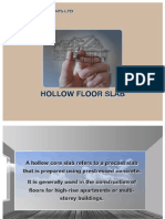 Hollow Floor Slab