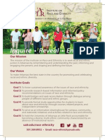 Mission of the UALR Institute on Race and Ethnicity