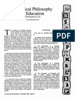 1989 Issue 7 - A Biblical Philosophy of Education - Counsel of Chalcedon