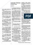 1989 Issue 10 - Developing a Consistently Christian World and Life View - Counsel of Chalcedon