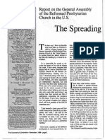 1989 Issue 10 - The Spreading Flame - Counsel of Chalcedon