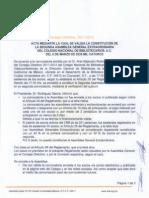 Acta Segunda Asamblea Extraordinaria2014