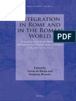 De Kleijn, Gerda and Benoist, Stéphane (Eds.) – Integration in Rome and in the Roman World. Proceedings of the Tenth Workshop of the Intenational Network Impact of Empire (Lille, June 23-25, 2011).