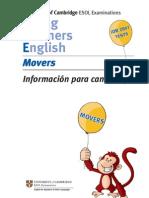 informacion sobre el examen de MOVERS