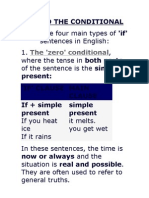 IF AND THE CONDITIONAL