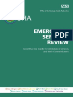 ESR Good Practice Guide for Ambulance Services and Their Commissioners