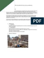Diseño de Acero de Una Casa Aligerada Informe 5