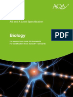 AQA A Level Biology Spec