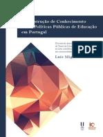 A Construção de Conhecimento sobre Políticas Públicas de Educação em Portugal