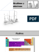 ALCALINO-ALCALINOTERREOS