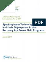 Costossynchrophasor Technologies Deployment Arra2009