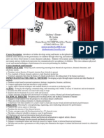 childrens theatre syllabus fall 2014
