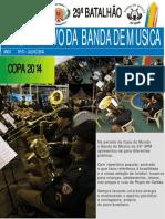 Informativo Banda de Música 29 BPM - Julho 2014