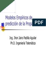 6 Mod Empir Predic Propagac