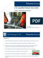 Flow Metrology for LNG 2011
