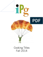 IPG Fall 2014 Cooking Titles