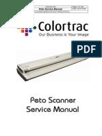 ColorTrac Peto Scanner Service Manual