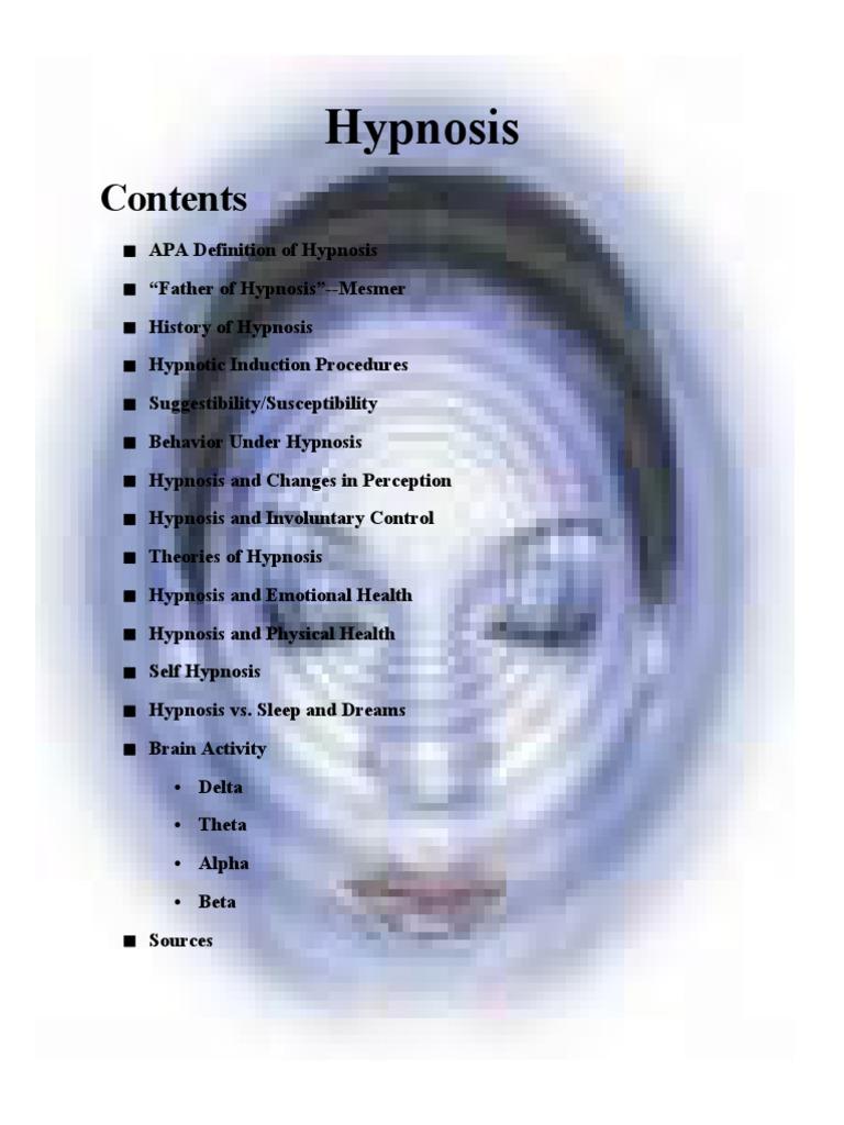hypnosis | Hypnosis | Electroencephalography