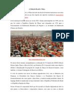 A Relacao Brasil e China