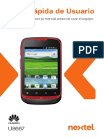 Manual Huawei Ares - U8667