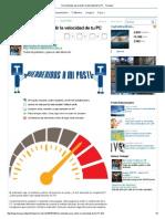 Herramientas Para Medir La Velocidad de Tu PC - Taringa!