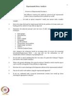 Overview of Experimental Mechanics