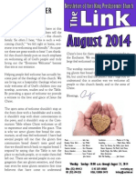 August 2014 LINK Newsletter