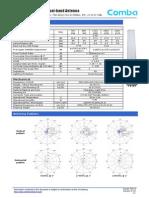 Antena Comba La-22.Odv-065r18ek-g Ds 0-T-0 (2,5 Mts Db Datasheet