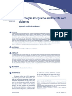 Abordagem Integral Do Adolescente Com Diabetes