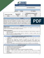 TERÇA (NOITE) - Ementa e Plano de Aula - Projeto IV - CST Em Processos Gerenciais