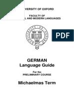 German Language Guide 0910