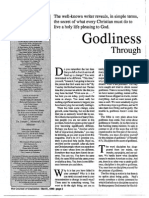 1990 Issue 2 - Godliness Through Discipline - Counsel of Chalcedon